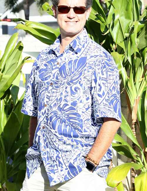 Tribal Hawaiian Shirt Button Up
